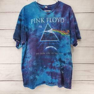 2012 Pink Floyd The Dark Side Of The Moon Tie Dye